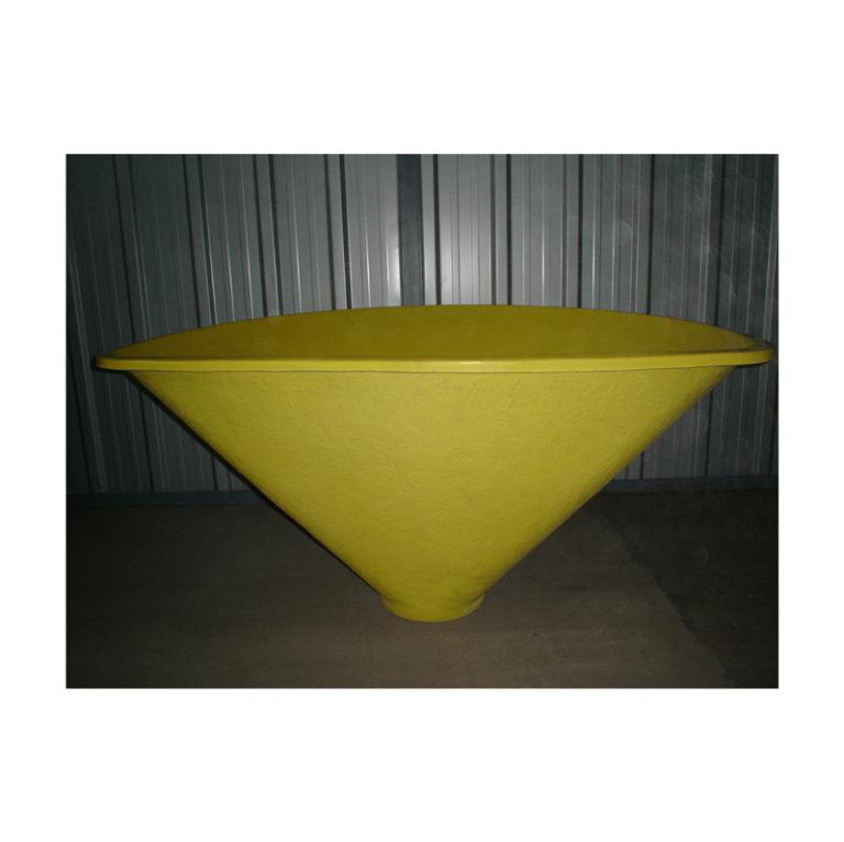 Plastični koš 300 kg sa nosačem 8009049964238